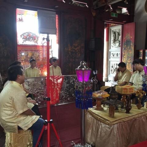 臺灣府城隍廟演奏