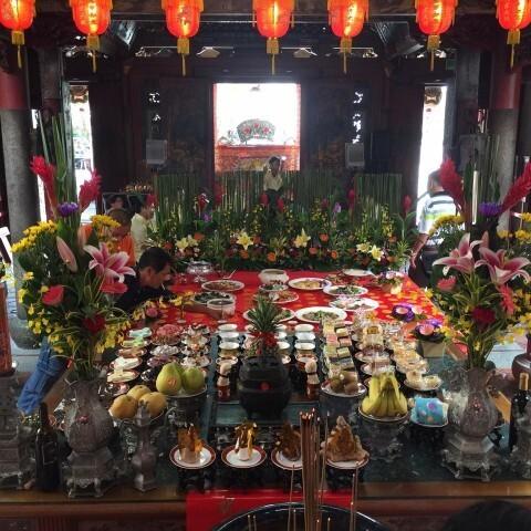 臺灣府城隍廟聖誕祭品
