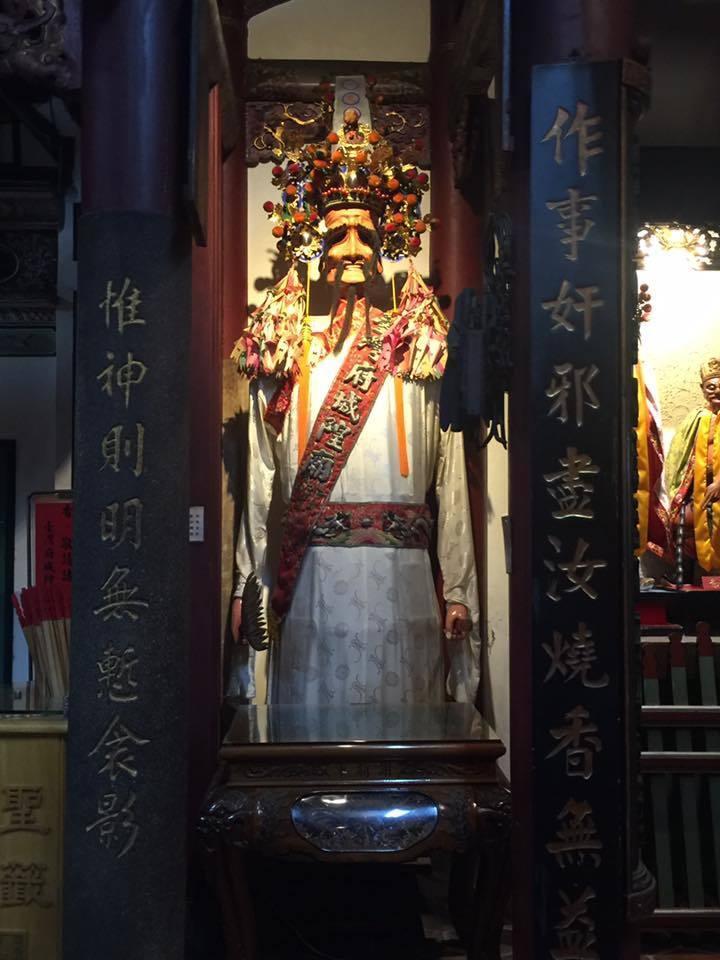 臺灣府城隍廟-謝將軍