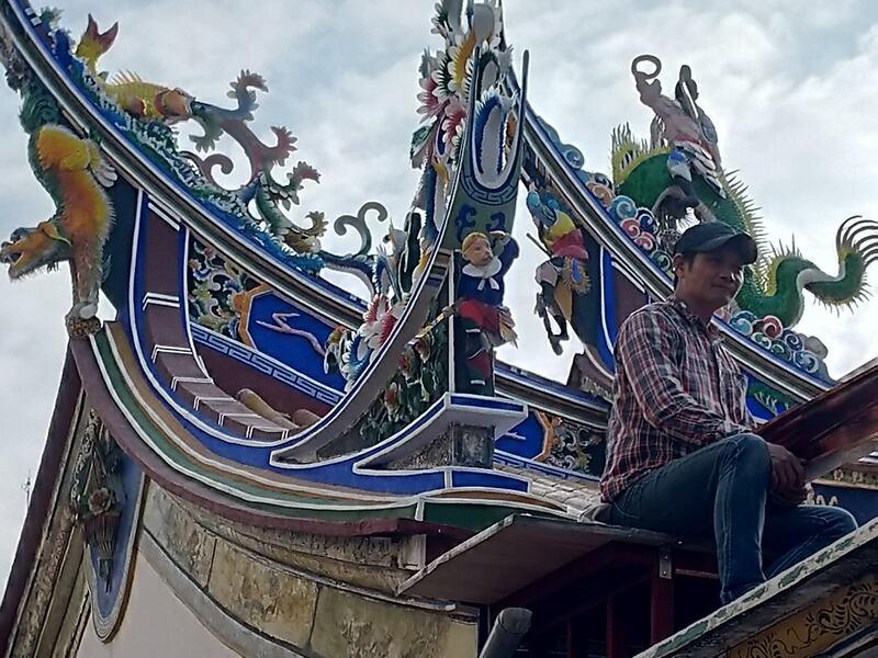 修復工程完工-臺灣府城隍廟